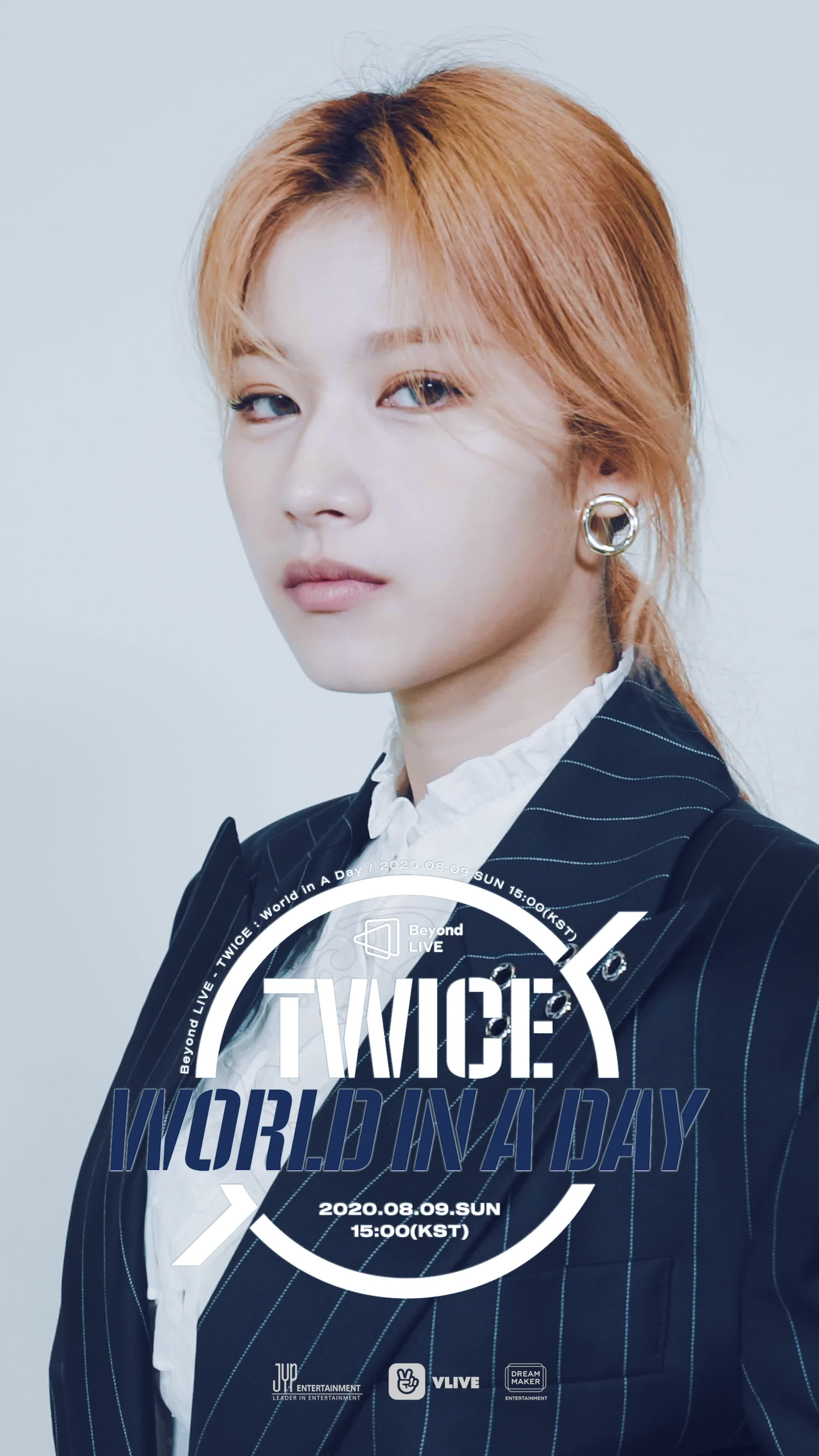 [Beyond LIVE - TWICE : World in A Day] Moving Poster - SANA
