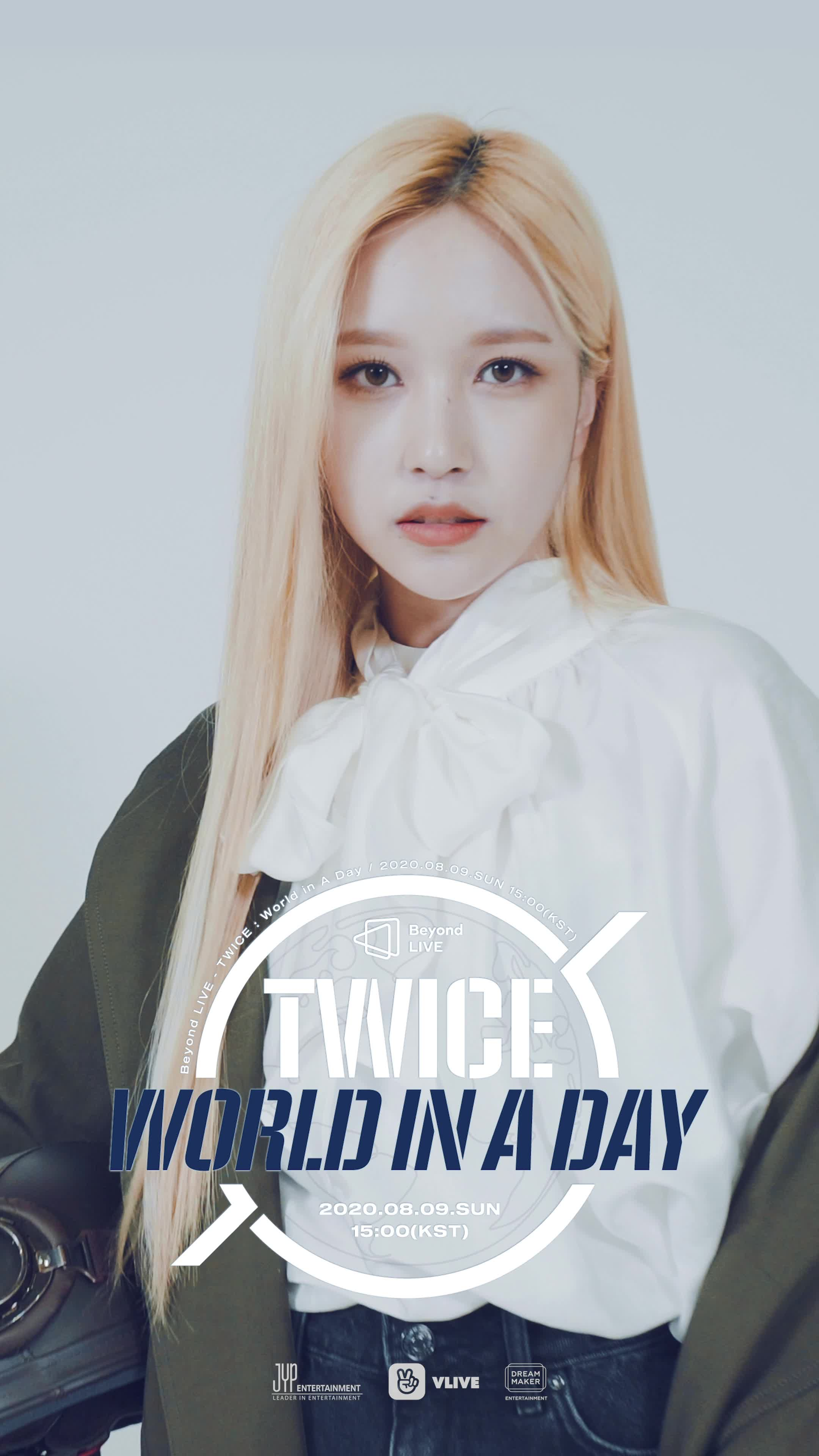 [Beyond LIVE - TWICE : World in A Day] Moving Poster - MINA