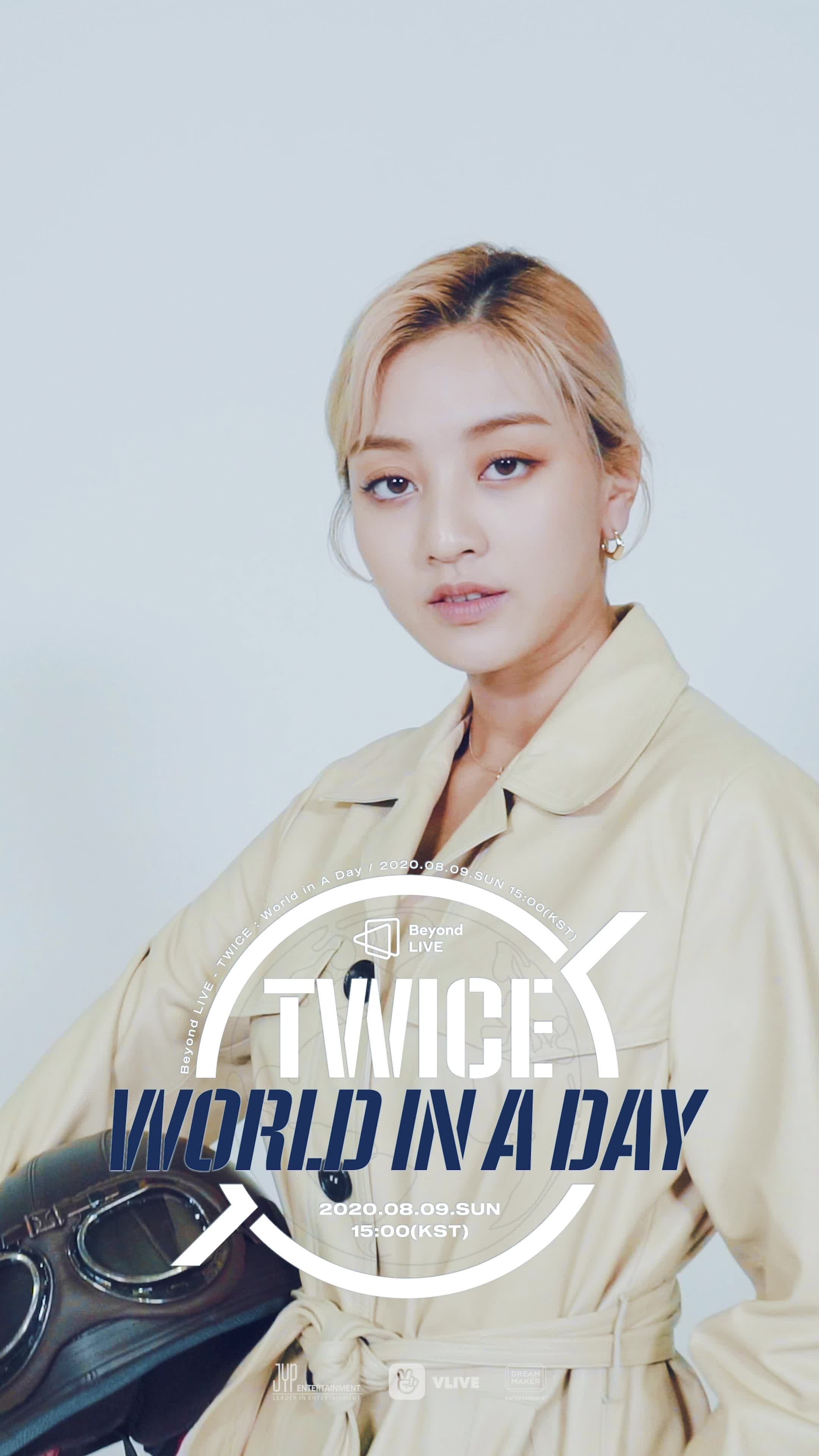 [Beyond LIVE - TWICE : World in A Day] Moving Poster - JIHYO