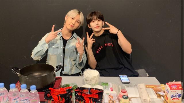 YY&JEN 불마왕 라면 먹방 챌린지😈(누가 내 혀 뺨 때렸냐)