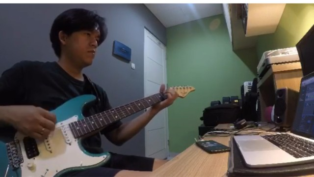 Let's Love Guitar Lead Improve! Cover by Rama.