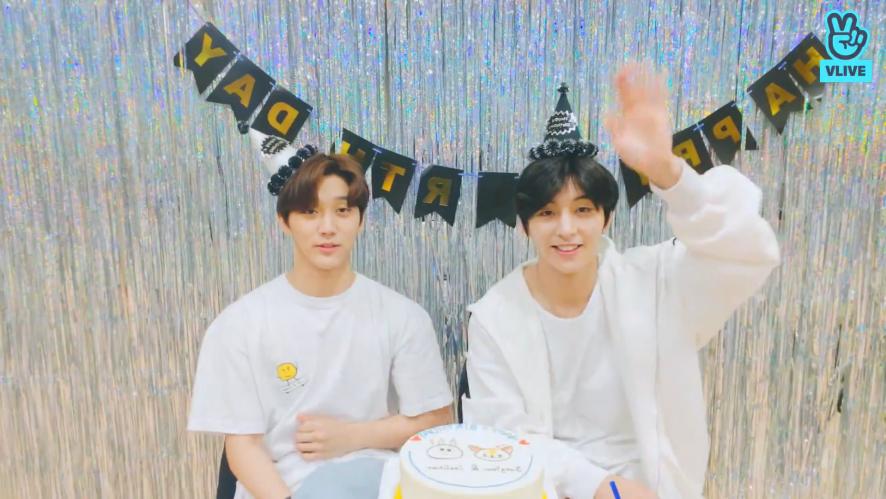 HBD Y&Joo Chan🎉🎉🎉