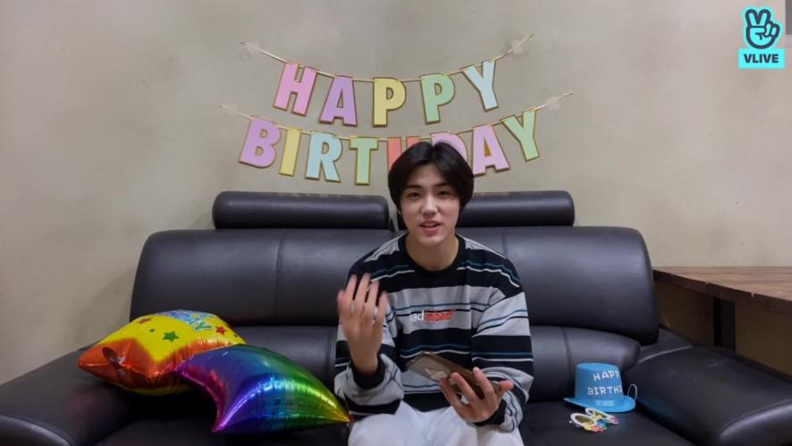 [LIVE] Seongmin, Happy Birthday! 🎉