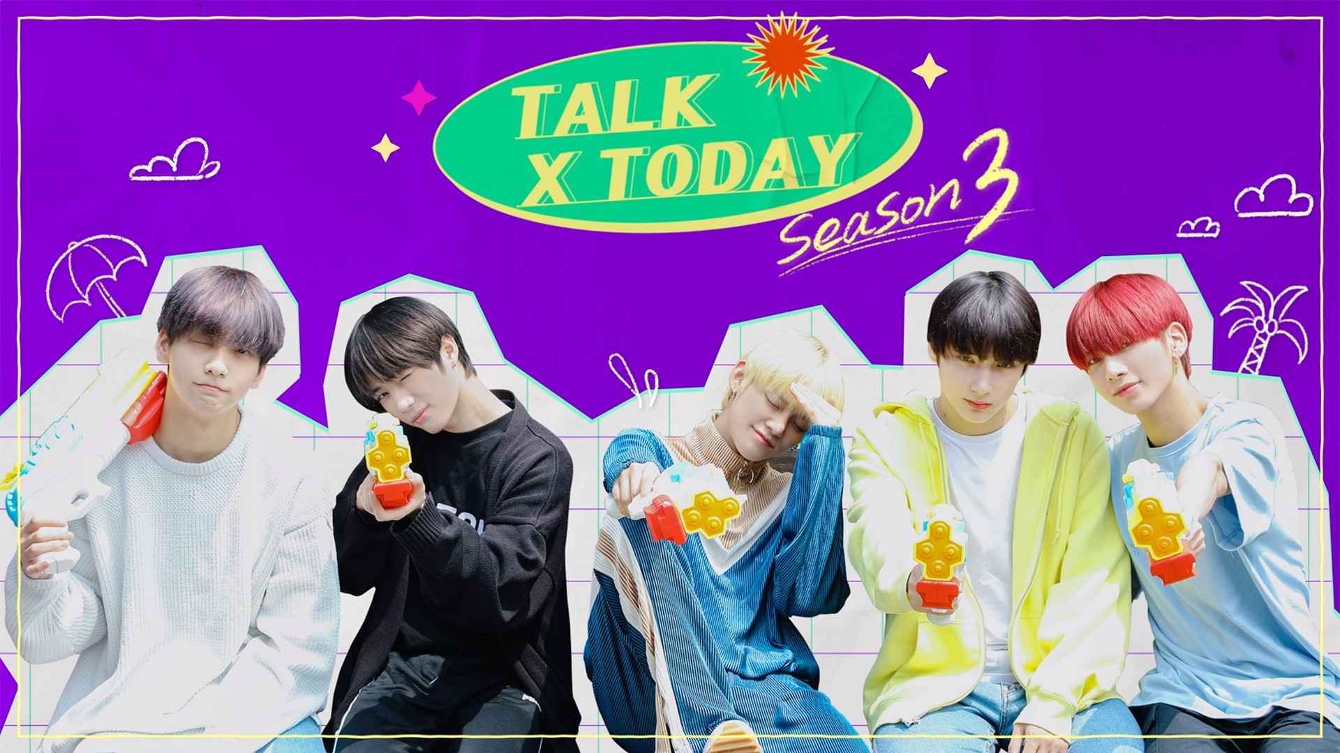 TALK X TODAY : Season3 Teaser - TXT (투모로우바이투게더)