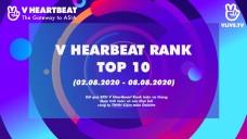 Top 10 V HEARTBEAT Rank tuần 02.08 - 08.08