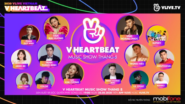 V HEARTBEAT LIVE AUGUST 2020