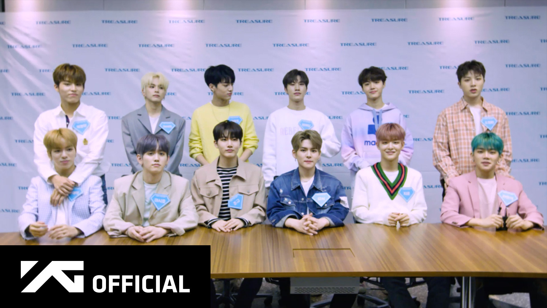 TREASURE - [THE FIRST STEP : CHAPTER ONE] ONLINE FANSIGNING EVENT