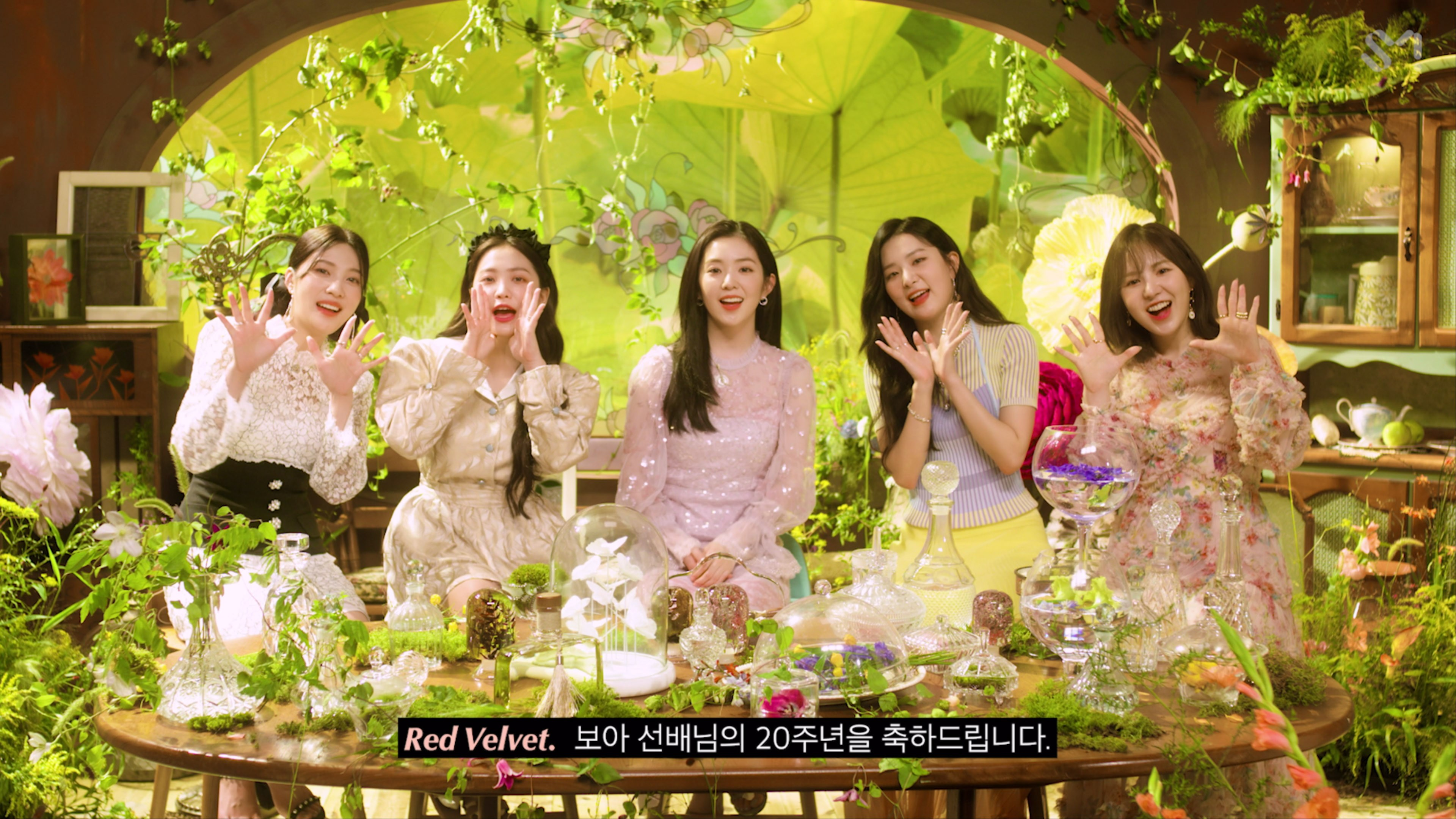 [STATION/Our Beloved BoA #4] Red Velvet 레드벨벳 Interview #비하인더스테이션