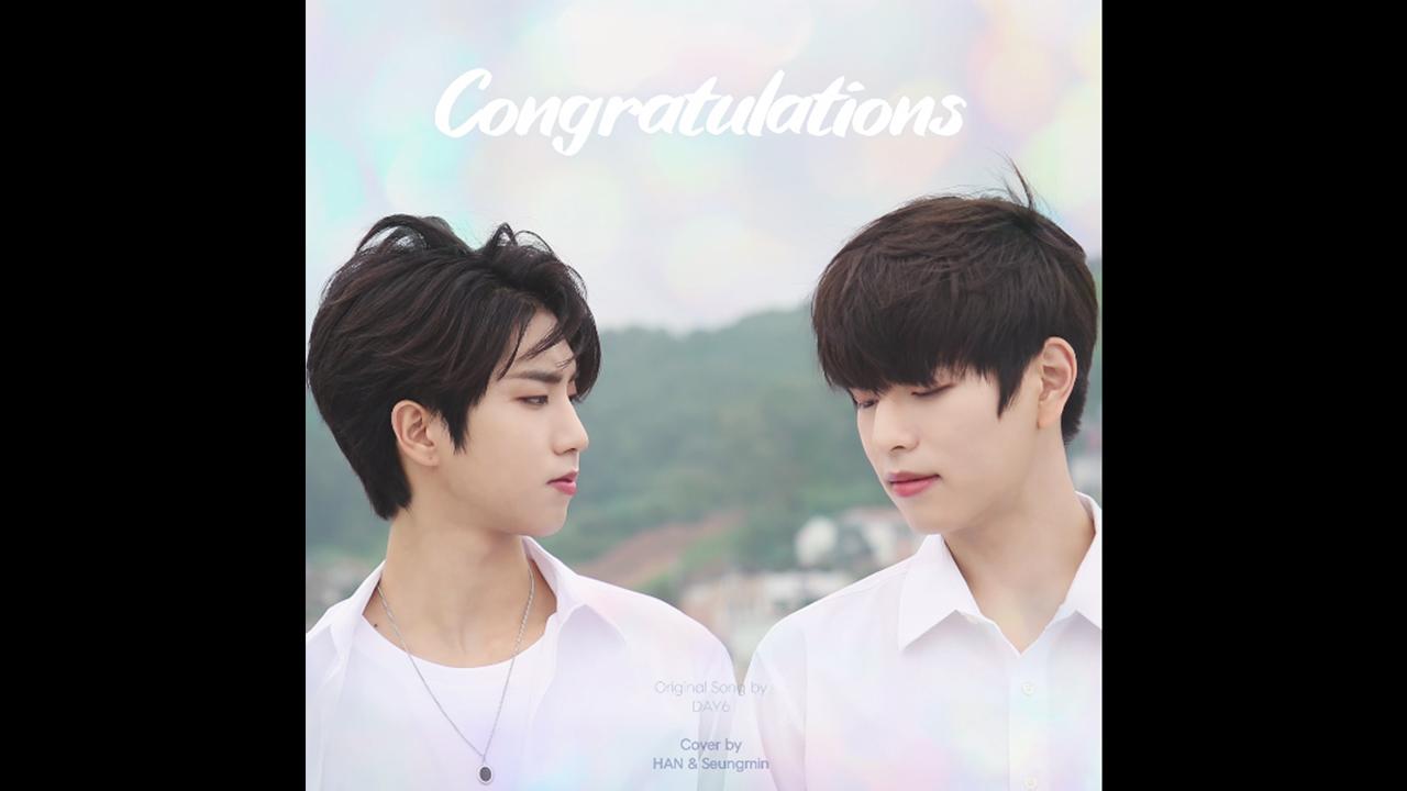 "[Stray Kids(스트레이 키즈) : SKZ-RECORD(슼즈 레코드)] 한, 승민 ""Congratulations"" Cover (원곡 : DAY6)"