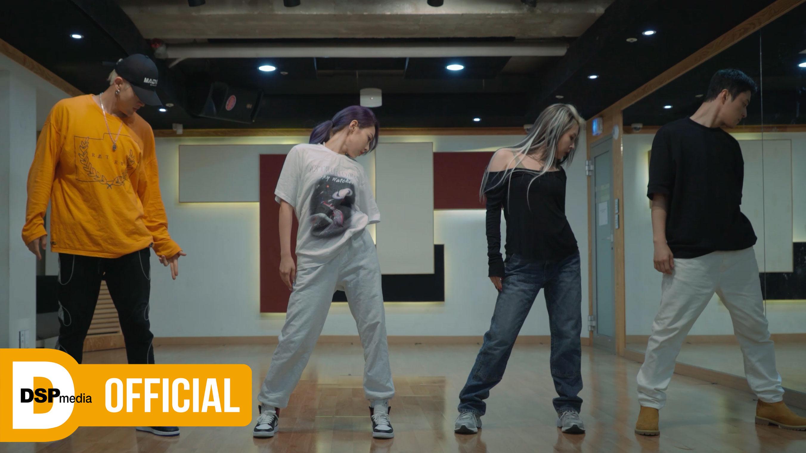 KARD - GUNSHOT (only KARD ver.) _ 안무 영상 (Dance Practice)