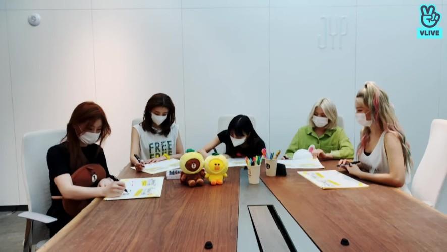 [ #ITZY ] ITZY X LINE FRIENDS Homework Live 💕