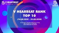 Top 10 V HEARTBEAT Rank tuần 16.08 - 22.08