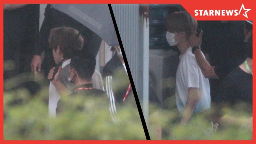 방탄소년단(BTS) 극비리 '다이너마이트' 무대 녹화