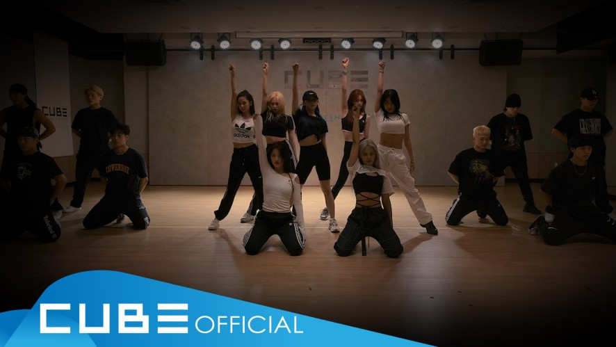 CLC - 'HELICOPTER' (Choreography Practice Video)