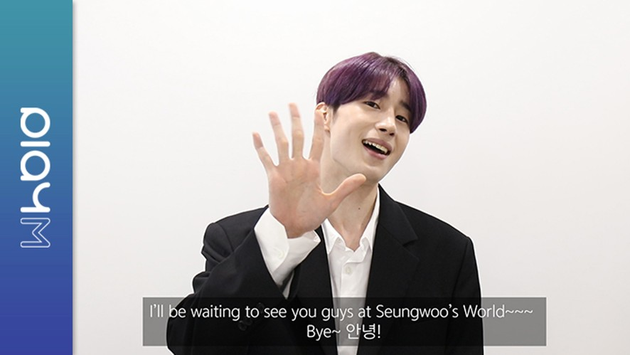 """Han Seungwoo ONTACT STAGE """"Welcome to Seungwoo's World"""""""