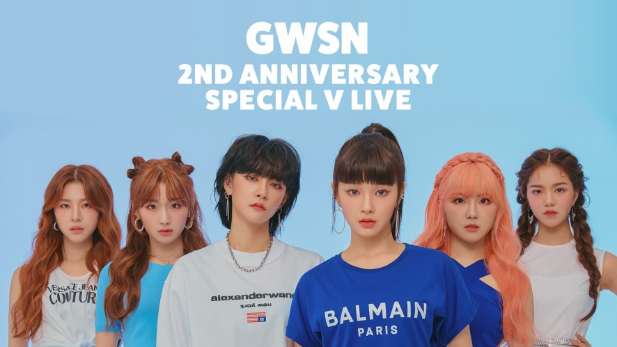 GWSN 2nd Anniversary Special V LIVE