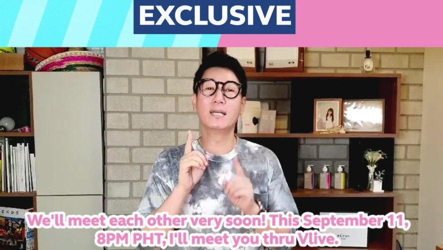 SURPRISE! Jee Seok Jin has a message for you!