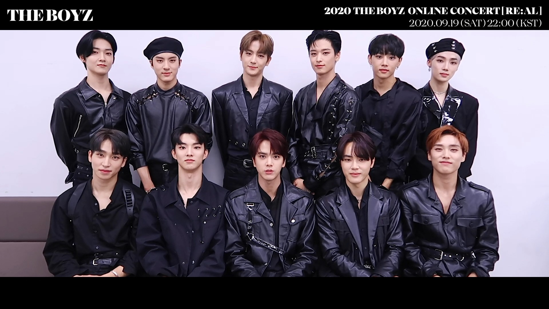 2020 THE BOYZ ONLINE CONCERT [RE:AL] INVITATION MESSAGE