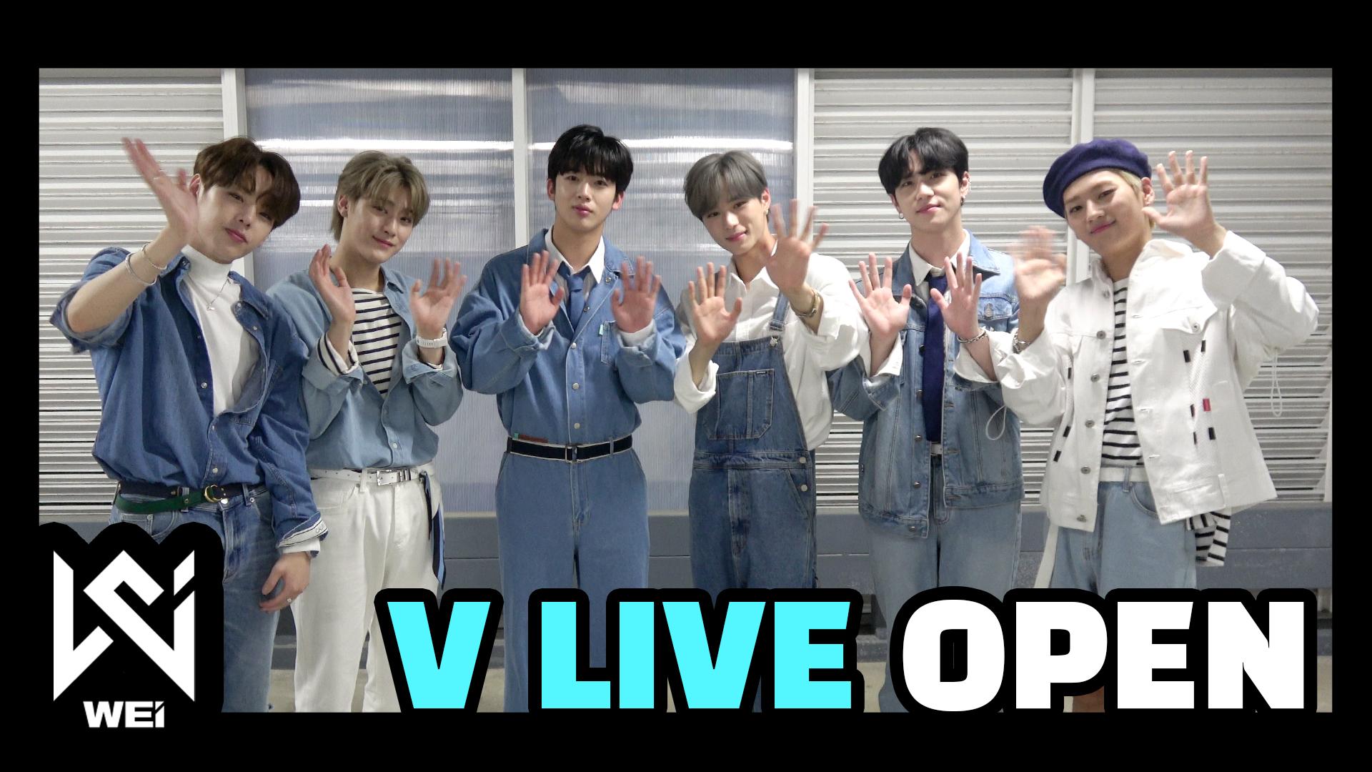 위아이(WEi) - WEi V LIVE OPEN