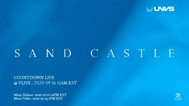 UNVS (유엔브이에스) 3rd Single 'Sand Castle' Comeback Countdown