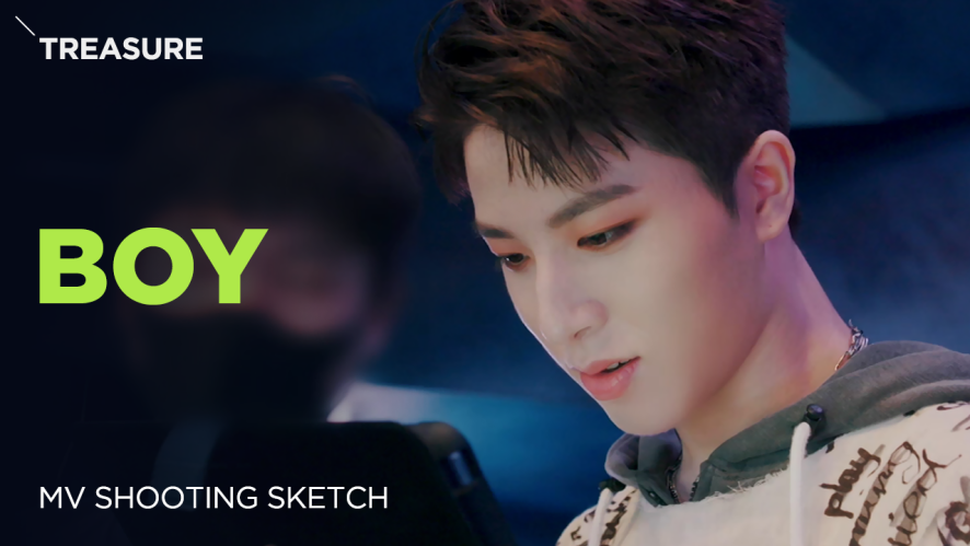 [Pops in Seoul] BOY!💚‍ TREASURE(트레저)'s 🎶MV Shooting Sketch🎨
