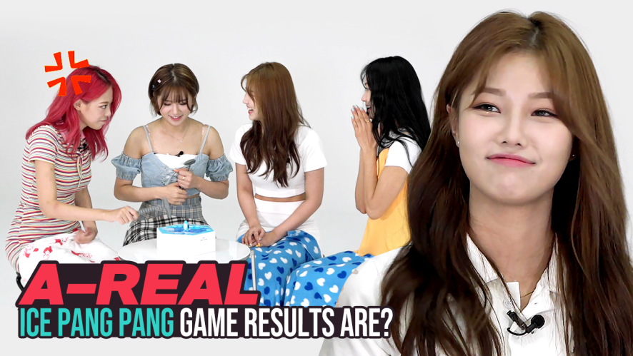 [Pops in Seoul] Wake Me Up~♬ Today's game♟ for A-REAL(에이리얼) - 'Ice Pang Pang!!🐧'