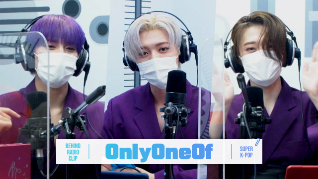 [Pops in Seoul] ♦︎Behind 📻Radio Clip♦ OnlyOneOf(온리원오브)'s Interview~💙