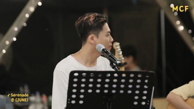 준 (JUNE) - Serenade @ MUSIC CAMPING FESTIVAL