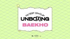 [Vol. BAEKHO] NU'EST ON-CLIP <UNBOXING>