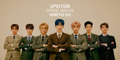 UP10TION(업텐션) 공식 팬클럽 HONEY10(허니텐) 3기
