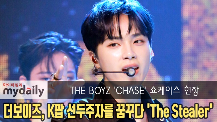 [THE BOYZ] showcase of their title song 'The Stealer'
