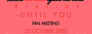 Until we meet again : Until You