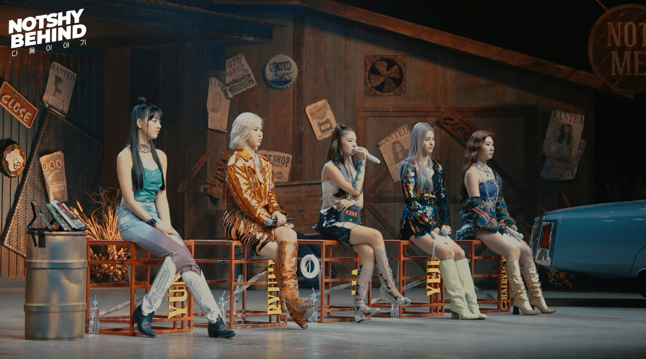 "ITZY(있지) ""Not Shy"" BEHIND #1"