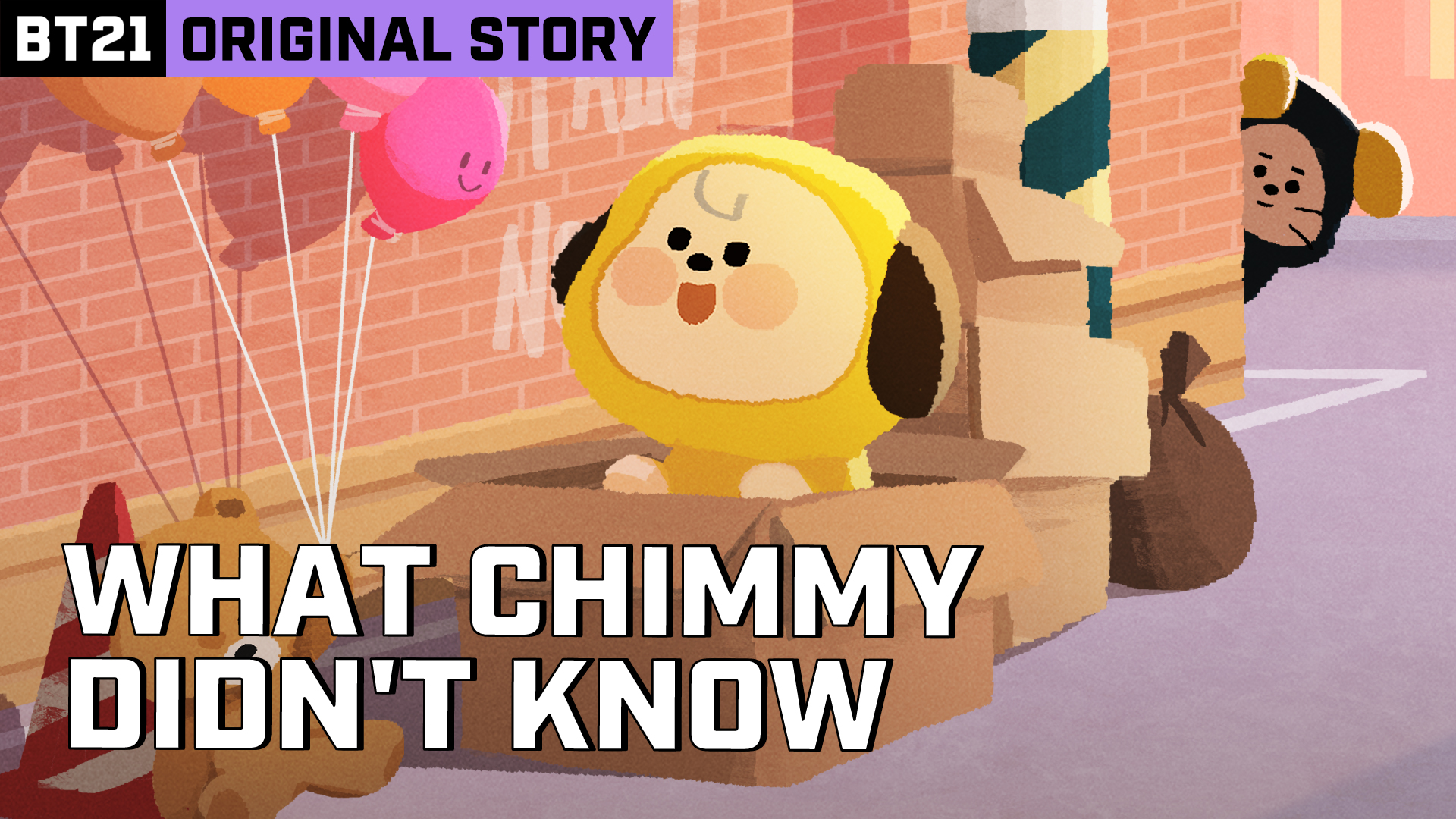 BT21 ORIGINAL STORY EP.01 - CHIMMY & CHIEF