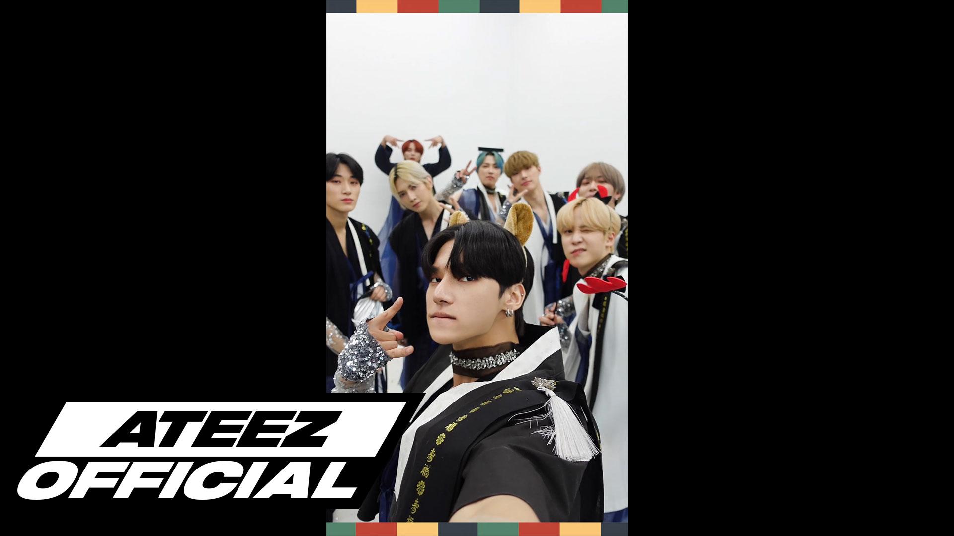 ATEEZ(에이티즈) - '춤을 춰 (TO THE BEAT)' 한복 Selfie MV