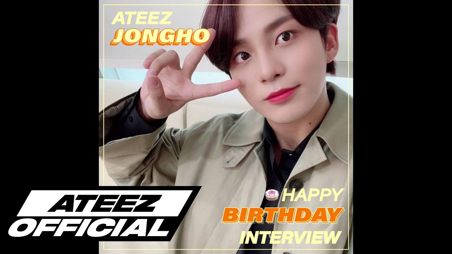ATEEZ(에이티즈) 종호 생일 8문 8답 INTERVIEW