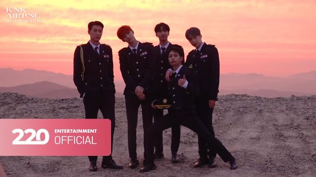 크나큰(KNK) - [RIDE] MV MAKING FILM