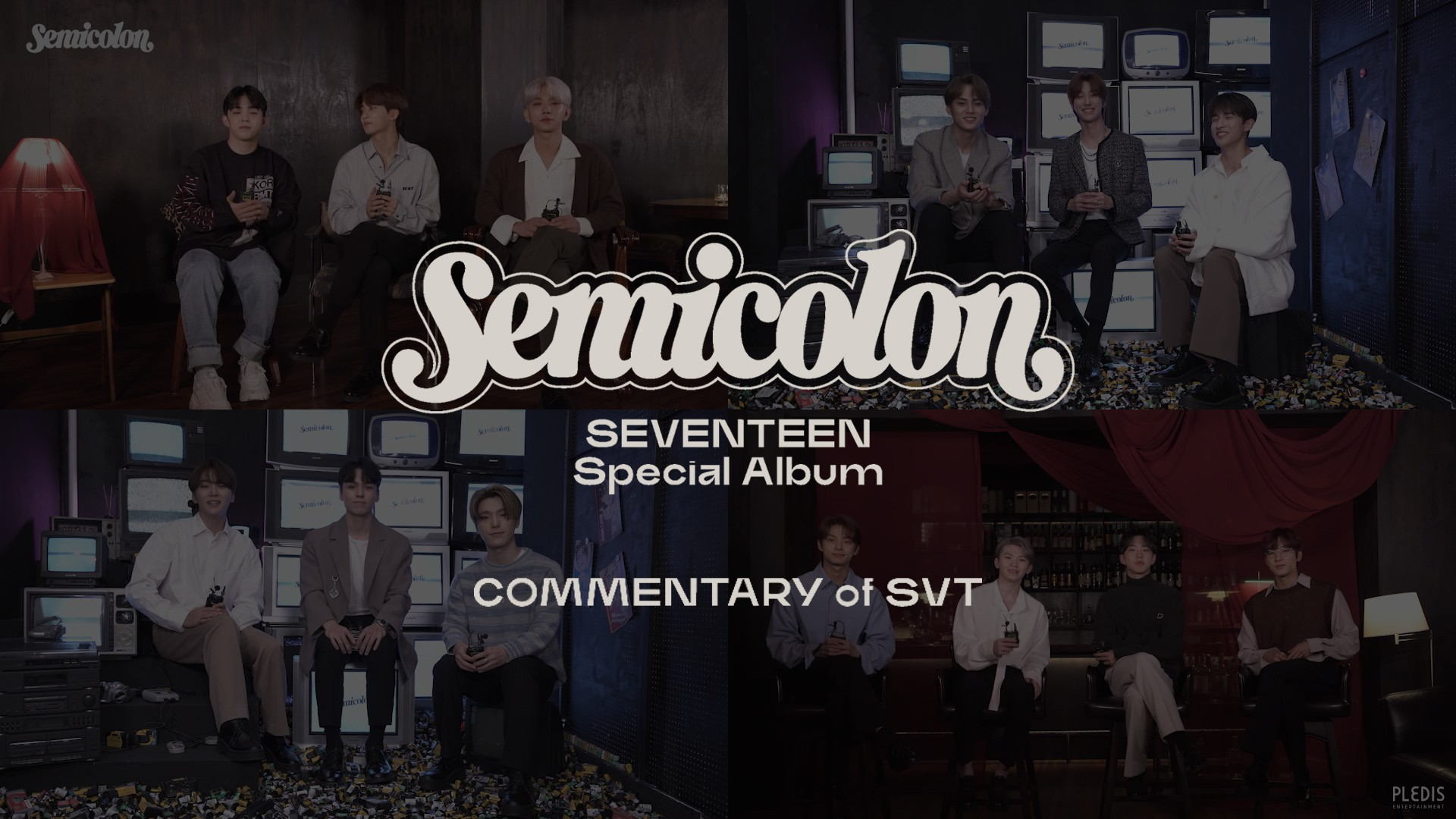 SEVENTEEN (세븐틴) Special Album '; [Semicolon]' COMMENTARY of SVT