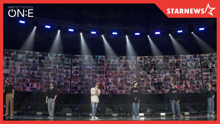 ★ 방탄소년단 온라인 콘서트 'BTS MAP OF THE SOUL ON:E' 역대급 퍼포먼스!
