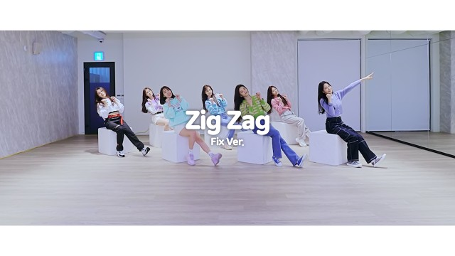 Weeekly(위클리) : Zig Zag Choreography Video (Fix Ver.)