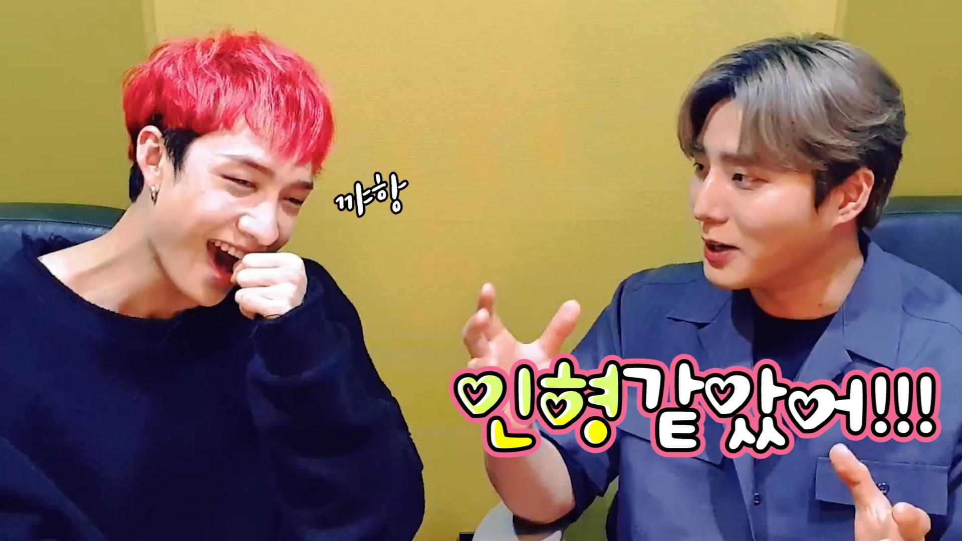 [Stray Kids] 작고 귀여운 찬이의 동생미를 조금만 맛보세요🐺🦊 (Bang Chan's V with YoungK!)