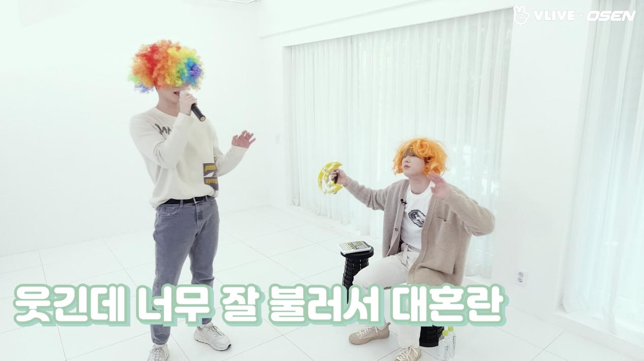 아스트로 문빈&산하, 프로 아이돌은 벌칙도 셀프로 (ft.쿠키영상) #스타로드 04