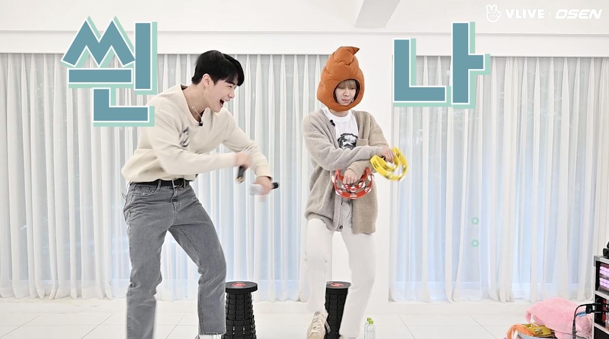 아스트로 문빈&산하, 역시 흥의 민족..텐션 폭발 노래방 대결 #스타로드 03