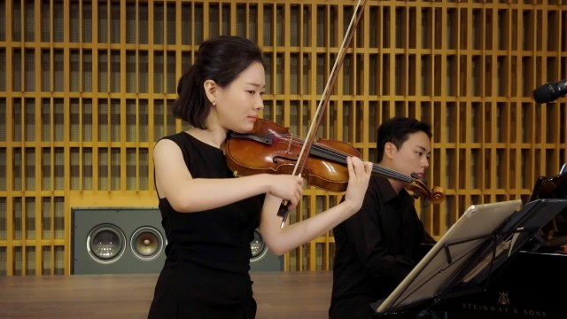 Wusuli Barcarolle for Violin and Piano by Yuncan Wang, Song Guo l 아시아 작곡가 l 송지원 & 신창용