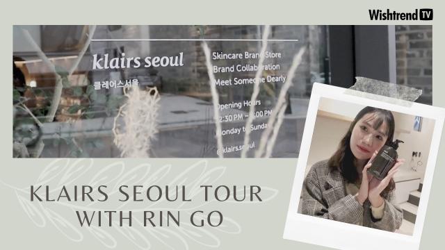 Khám Phá Flagship Store Đầu Tiên của Dear, Klairs cùng @Rin Go | Klairs Seoul Tour