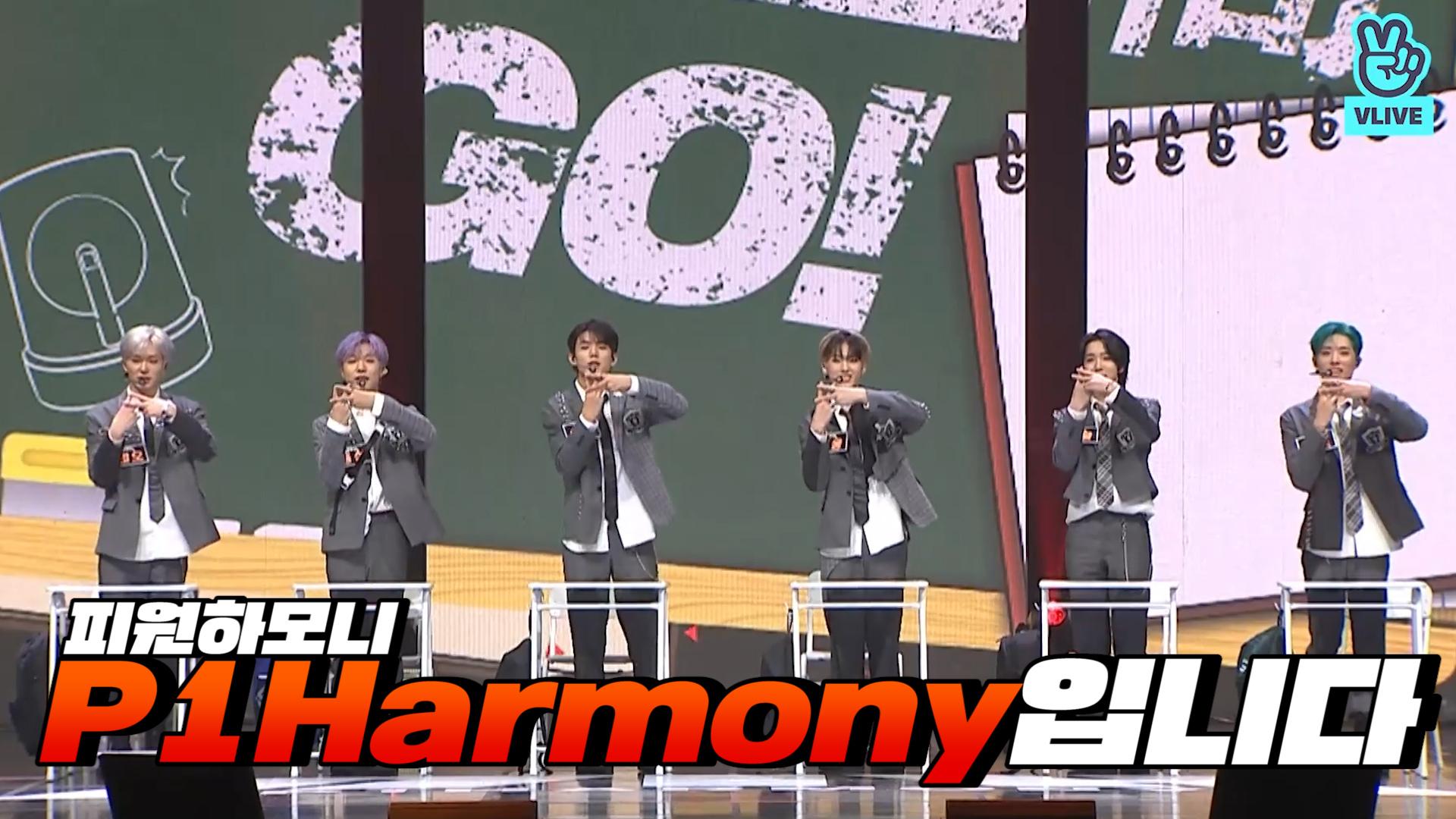 [P1Harmony] 🚨위옹위옹 피원하모니 귀엽다고 삐삐 울려대🚨 (P1Harmony's self-introduction!)