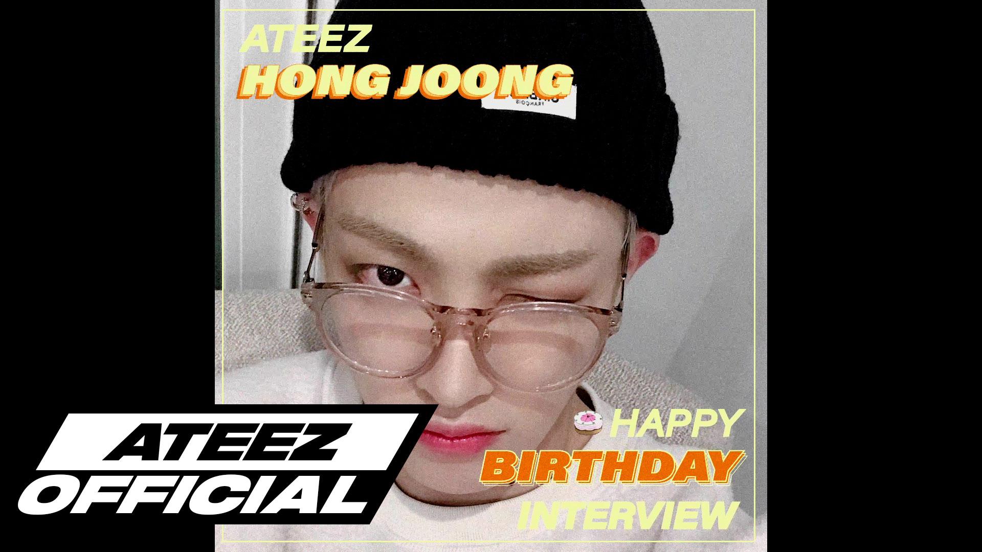 ATEEZ(에이티즈) 홍중 생일 8문 8답 INTERVIEW