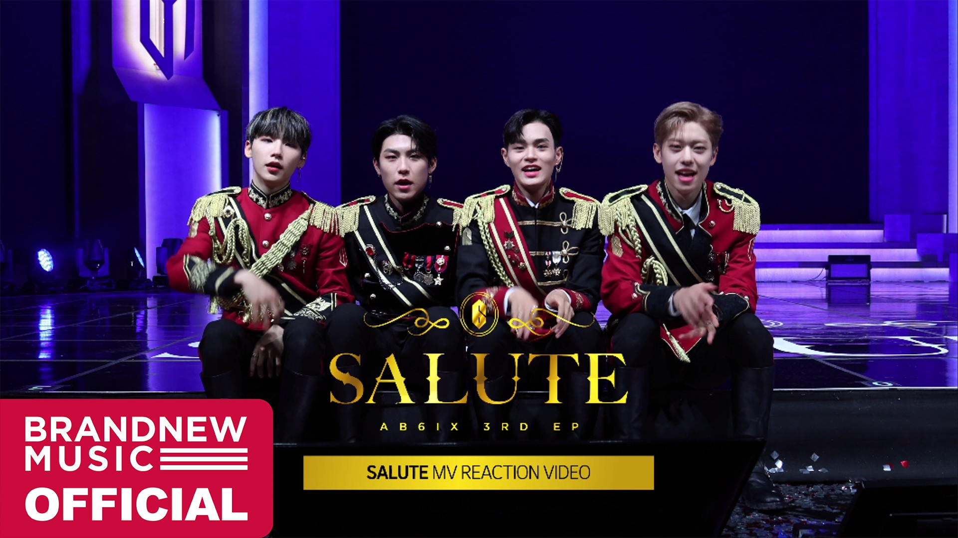 AB6IX (에이비식스) 'SALUTE' M/V REACTION VIDEO