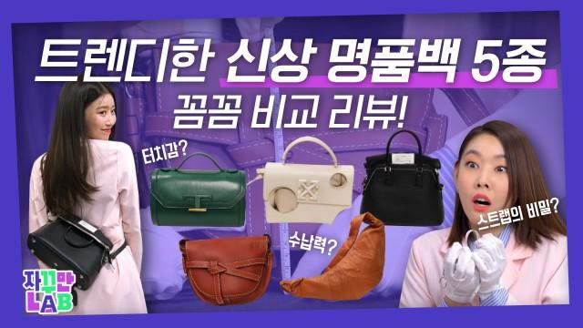 신상 명품백 👜 전격해부! 수납력부터 착용감까지 꼼꼼하게 분석해봄ㅣ자꾸만랩 ep.09