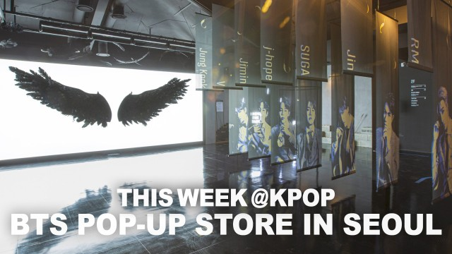 A quick take on BTS pop-up store in Seoul